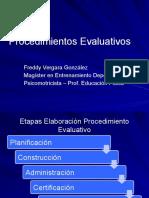 12 Procedimientos Evaluativos