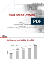 2007 Bear Stearns Fixed Income Overview