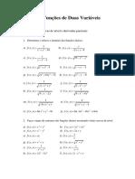 CFVV - Lista de Exercicios - CLAUD