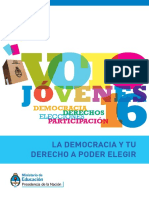 Cuadernillo Voto 16 Estudiantes