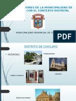 Rol y Funciones de La Municipalidad de Chiclayo