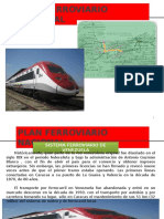 7) Plan Ferroviario Nacional