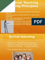 teaching guiding principles
