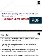 Labour Laws Refresher