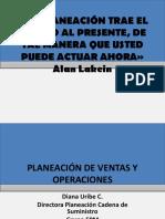 Planeación de Ventas y Operaciones - Eafit