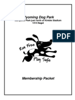 Membership Packet