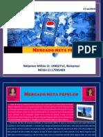 Mercado meta Pepsi.co Neljemar y Nelsymar Millan