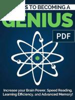 Become a Genius by Marco Guerrero