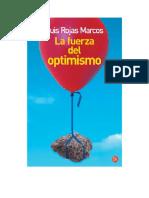 Rojas Marcos Luis - La Fuerza Del Optimismo