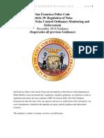 Guidelines Noise Enforcement