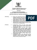 PMK No. 741 Ttg Standar Pelayanan Minimal Bidang Kesehatan Di KabupatenKota