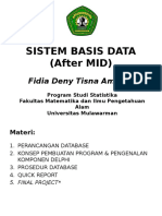 Sistem Basis Data (After Mid)