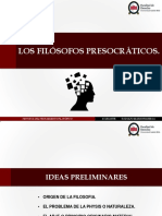 1) Ayudantia Los Filosofos Presocraticos