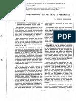 Jorge Streeter La Interpretacion de La Ley Tributaria (1)