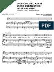 Himno Eucaristico Filipino 1937