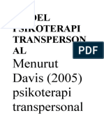 Model Psikoterapi Transpersonal