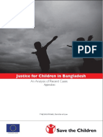 Justice for Children in Bangladesh (Appendixes)