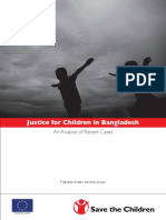 Justice for Children in Bangladesh (Main Book)
