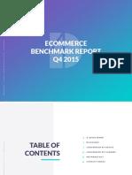 Demac Media Q4 2015 ECommerce Benchmark Report