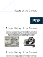 a basic history of the camera
