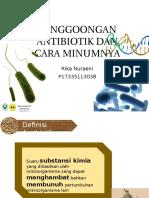 Rika Nuraeni - Penggoongan Antibiotik Dan Cara Minumnya
