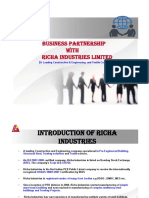 Introduction of Richa Industries Limited