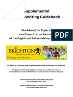 Letter Writing Guidebook