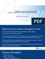 Online Education Outdoor Navigation
