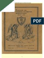 Canticos Del XXII Congreso Eucaristico Internacional