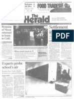 North Middle School Closure -- Herald 04.27.1994