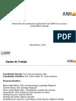 Valoracibmón Del Potencial Exploratorio de CBM en La Cuenca