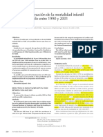 anexo 2 disminuci+¦n de la mortalidad infantil Chile 1990 2000
