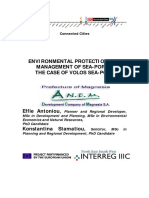 Environmental Protection and Management of Volos Sea-port