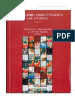 Estudios Sobre Comportamiento y Aplicaciones - Varela, Ibañez y Cabrera