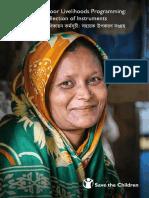 Extreme Poor Livelihoods Programming - Collection of Instruments
