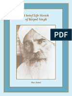 UoM – A brief Life Sketch of Kirpal Singh