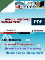 Presentation HRM