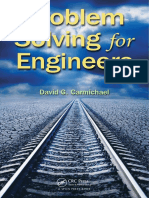 Problem Solving for Engineers - David G. Carmichael (CRC, 2013)
