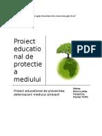 79635365 Proiect Educational de Protectie a Mediului