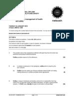 2012 01 IDIP Unit a Past Paper