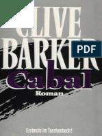 Barker, Clive - Cabal