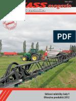 PEKASS magazín (2012), léto, zemědělská technika