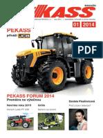 PEKASS magazín (2014), jaro