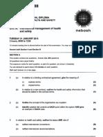 2014 01 IDIP Unit a Past Paper