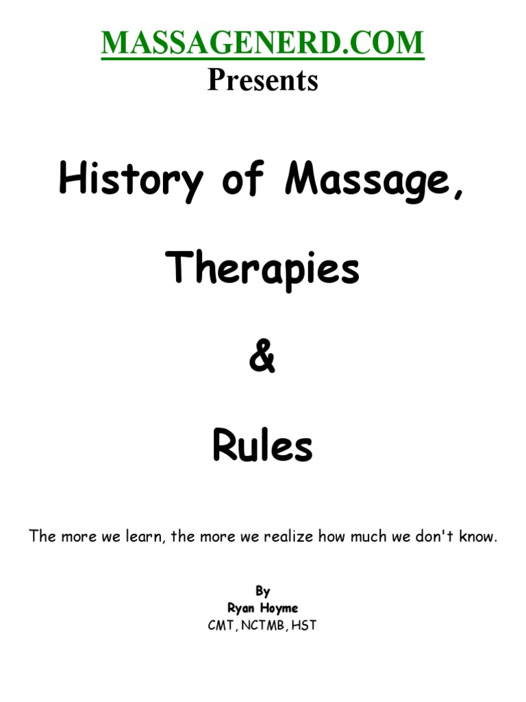 History therapies rules ryan hoyme massage physician fandeluxe Images