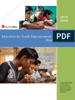 Education for Youth Empowerment (EYE) Program Strategic Document