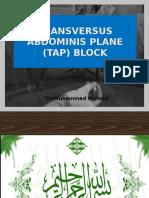 Stop TAP Block