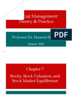 Chapter 7 Stock Valuation