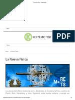 La Nueva Física - Keppe Motor
