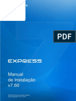 Manual de in Stala Cao Express 760